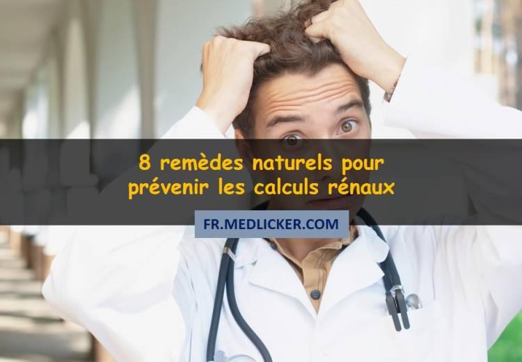 8 remèdes naturels pour prévenir les calculs rénaux
