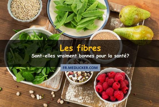 Pourquoi les fibres sont-elles bénéfiques?