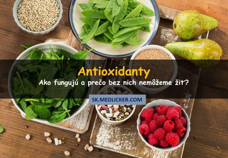 Čo sú antioxidanty?