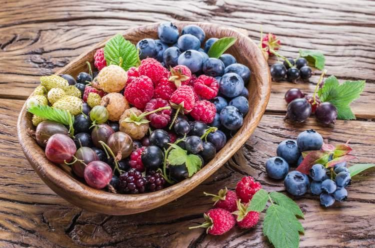 Bobulovité ovoce je velmi zdravé