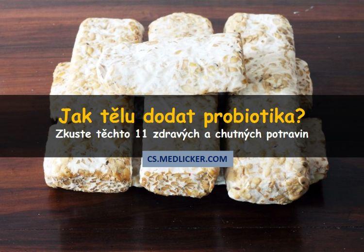 Jaká jsou nejlepší probiotika? Zkuste tyto potraviny!
