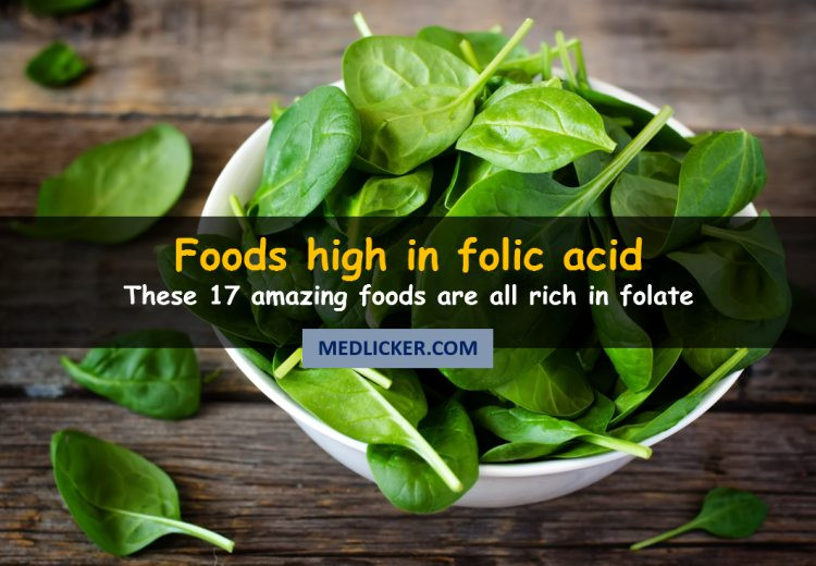 17 Foods Rich in Folic Acid