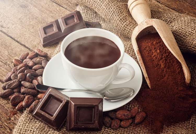Le chocolat noir contient beaucoup de fer