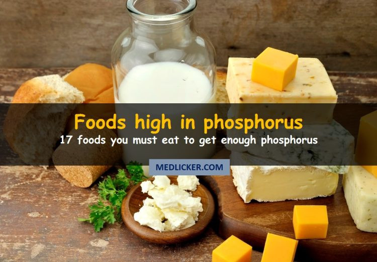 17 Foods High In Phosphorus