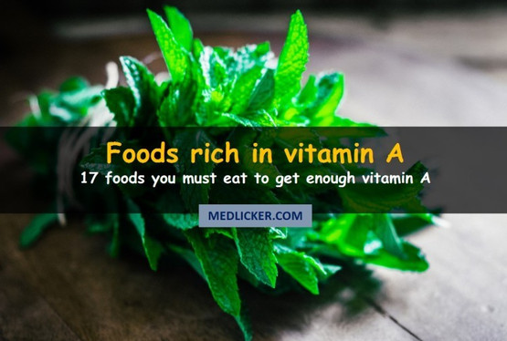 17 Foods Rich in Vitamin A