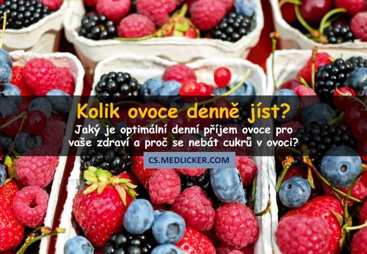 Kolik ovoce denně je optimální pro vaše zdraví?
