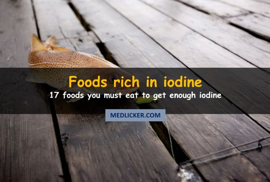 17 Foods High in Iodine