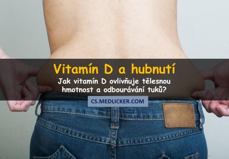 Může vitamín D pomáhat při hubnutí?