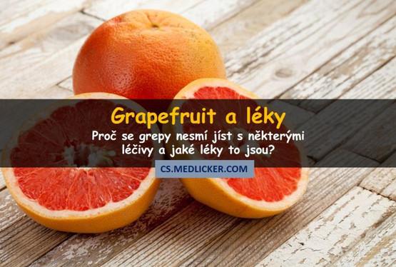Grapefruit může negativně ovlivnit účinnost řady léčiv? Tady je seznam jeho nejčastějších lékových interakcí!