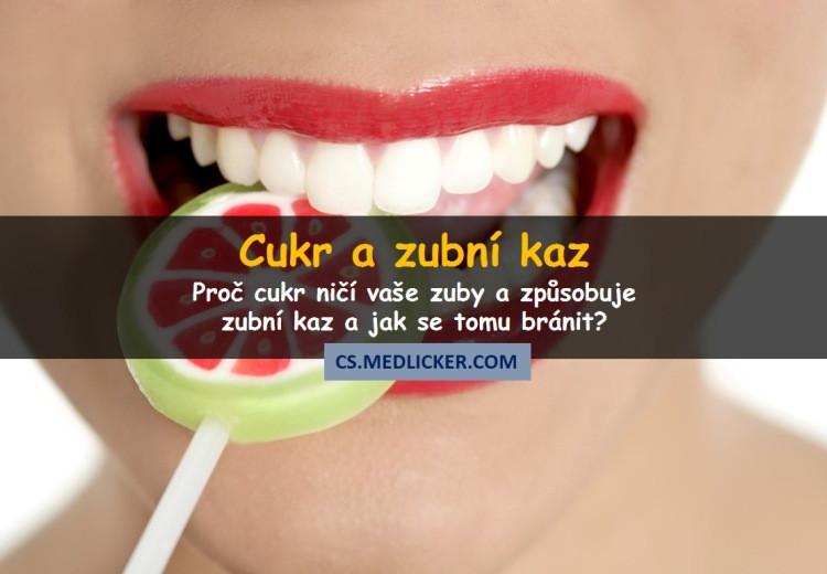 Proč cukr způsobuje zubní kaz a jak se tomu bránit?
