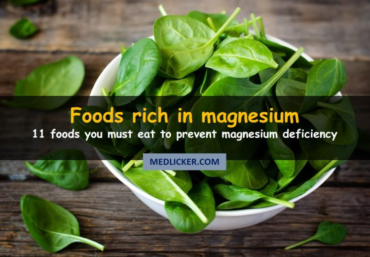 11 Foods High in Magnesium