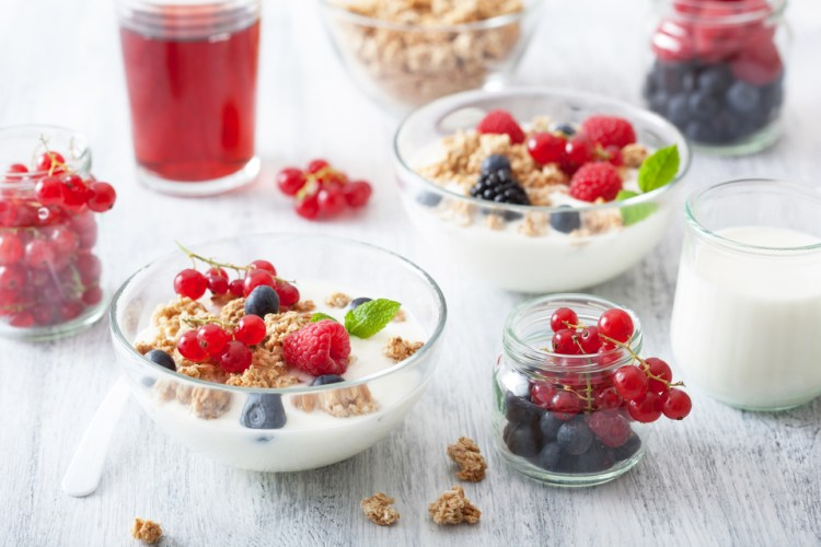Yogurt is high in magnesium, probiotic bacteria and other nutrients