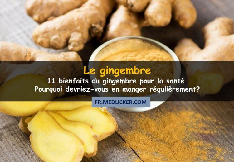 11 bienfaits du gingembre pour la santé, scientifiquement prouvés!
