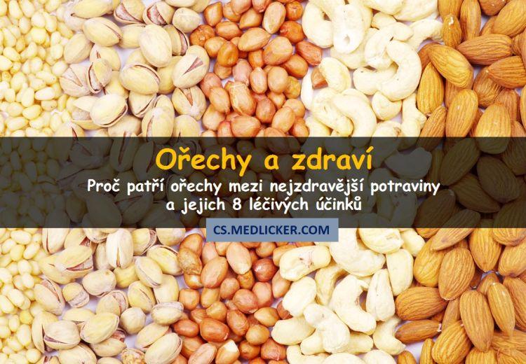 8 léčivých účinků ořechů na vaše zdraví