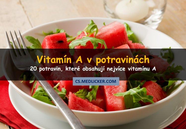 20 potravin bohatých na vitamín A