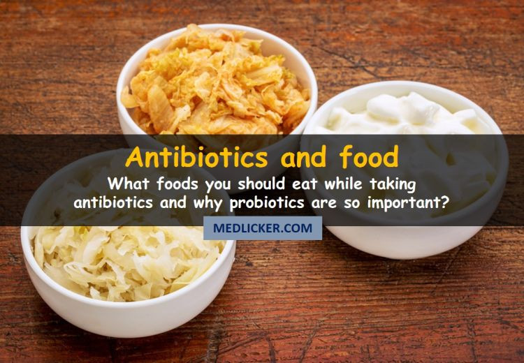 What are the best food choices when you take antibiotics?