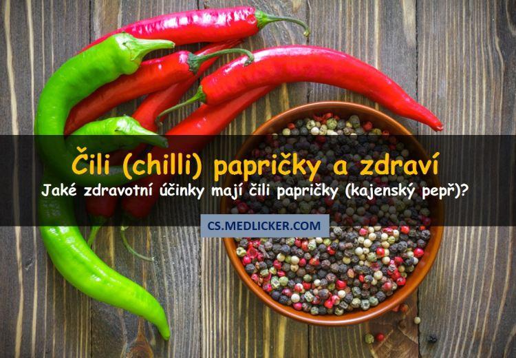 8 skvělých léčivých účinků čili papriček na vaše zdraví