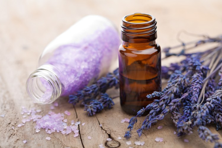 Lavender essential oil suits any type of skin