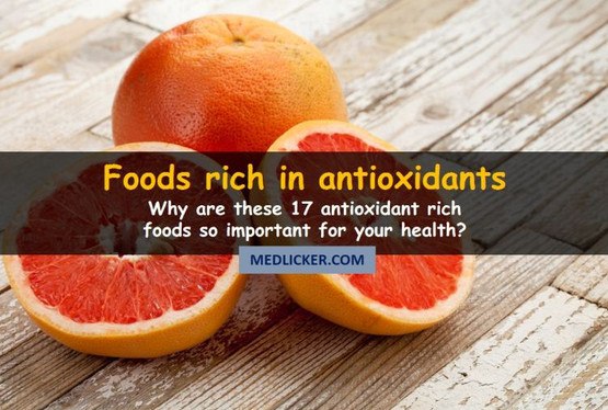 17 Foods Rich in Antioxidants