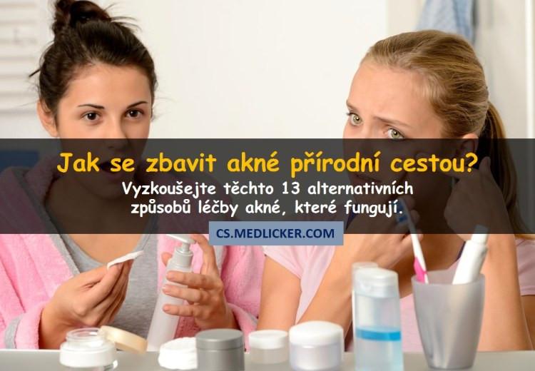 13 účinných alternativních způsobů jak léčit akné přírodní cestou
