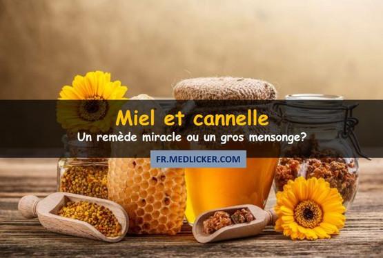 Miel et cannelle: une puissante cure ou un gros mensonge?