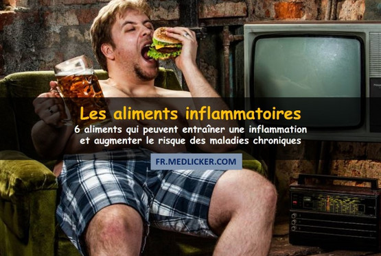 6 aliments inflammatoires à ne pas manger