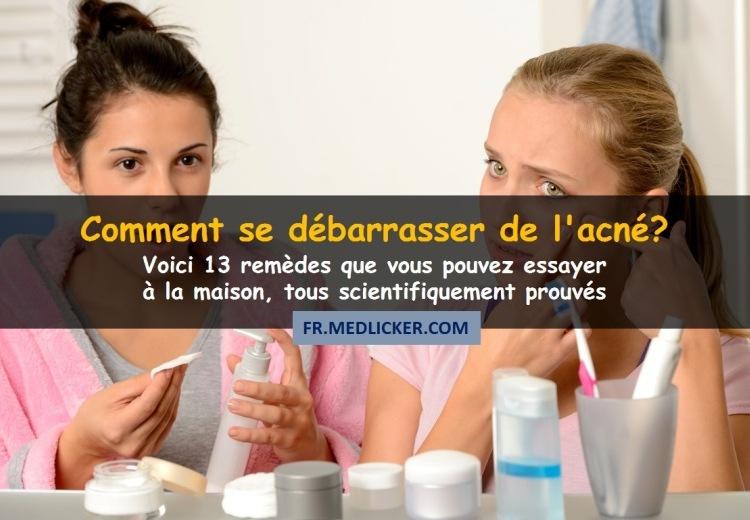 13 remèdes maison puissants contre l'acné