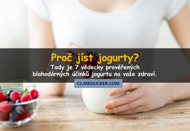 7 důvodů proč jíst jogurty?