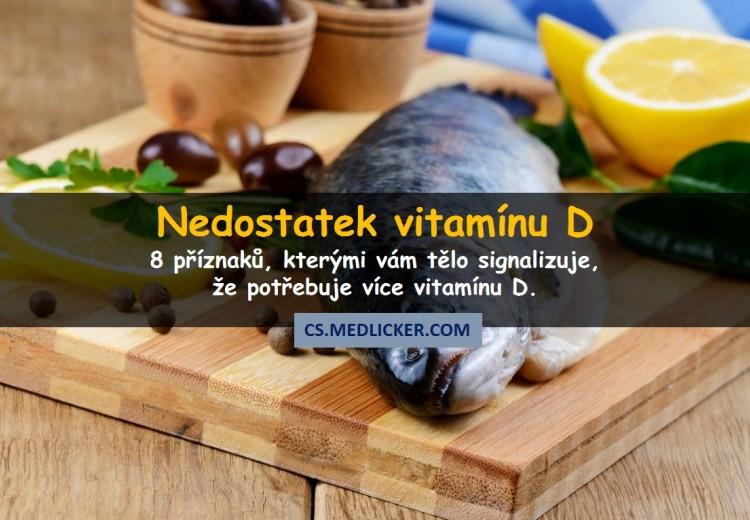 8 častých příznaků, kterými se projevuje nedostatek vitamínu D