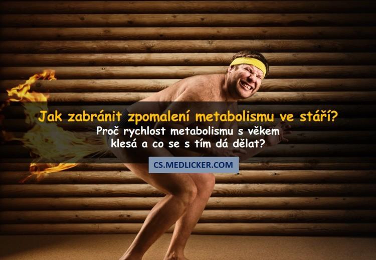 Proč s věkem dochází ke zpomalování metabolismu?