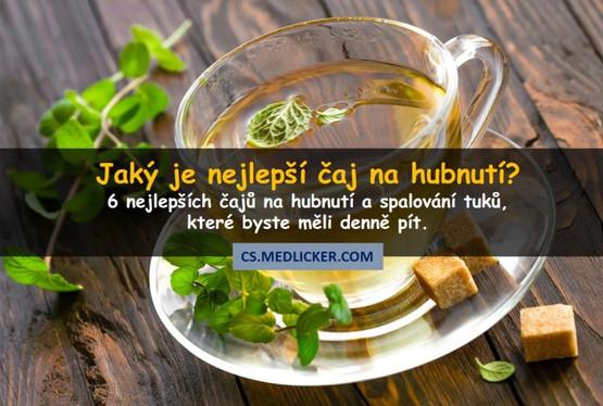 6 nejlepších čajů na hubnutí a spalování tuků?