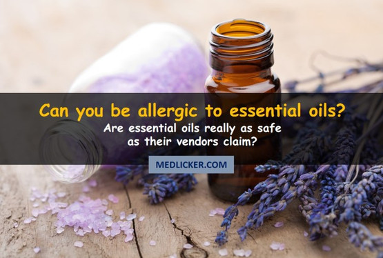 Do essential oils trigger allergic reactions?