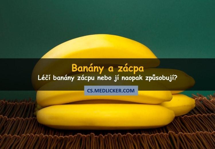 Banány a zácpa: pomáhají nebo ne?