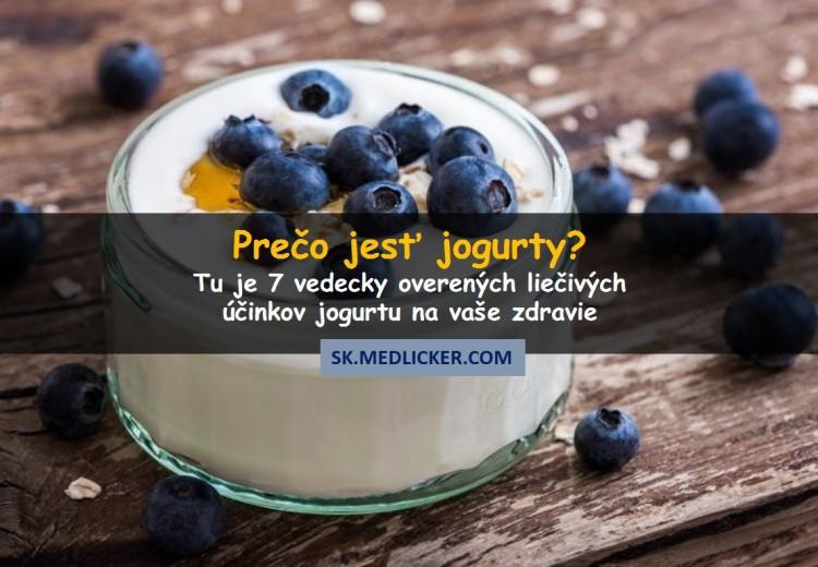 7 dôvodov prečo jesť jogurty