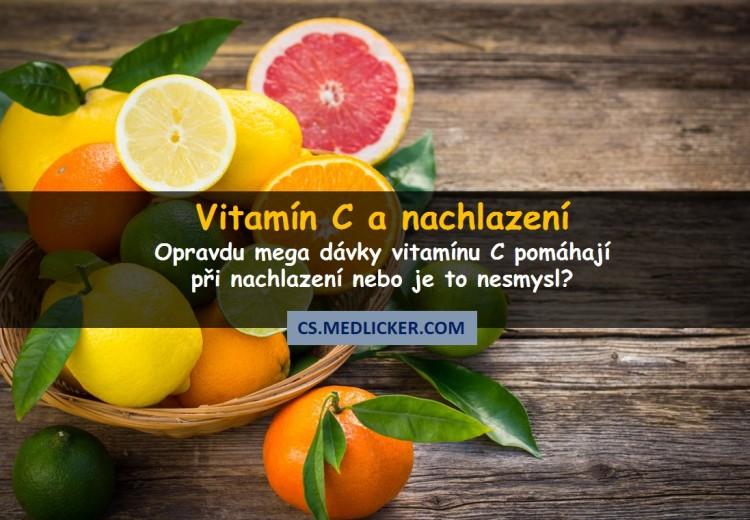 Opravdu vitamín C pomáhá při nachlazení nebo je to nesmysl?
