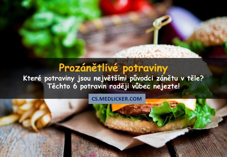 6 prozánětlivých potravin, které byste neměli jíst