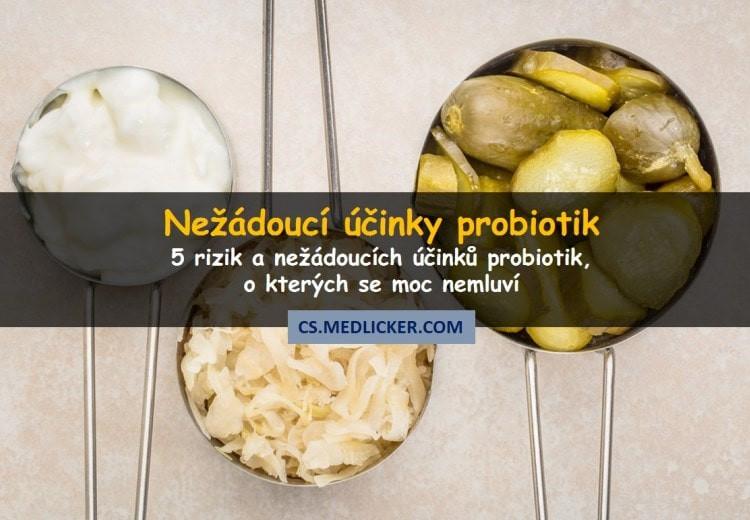 Nežádoucí účinky a rizika probiotik