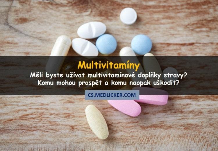 Multivitamíny: měli byste je užívat nebo ne?