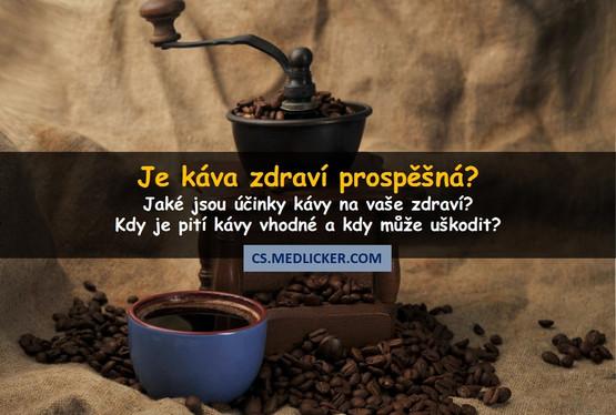 Káva a zdraví - prospívá nebo škodí?