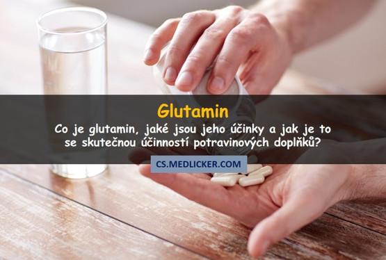 Glutamin, jeho účinky na zdraví a nežádoucí účinky