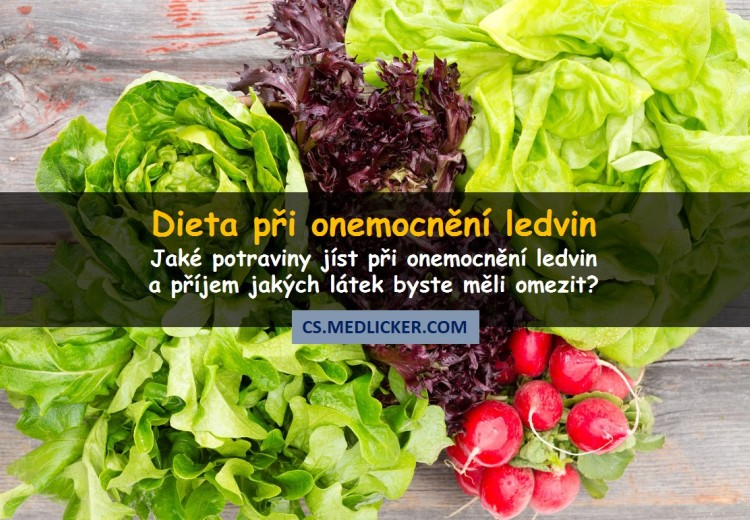 Ledvinová dieta aneb 20 potravin, které jíst při onemocnění ledvin