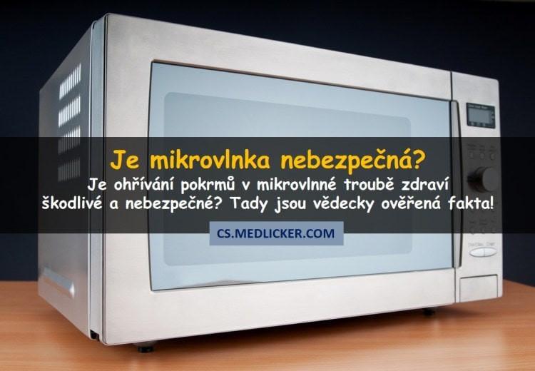 Škodí mikrovlnná trouba zdraví?