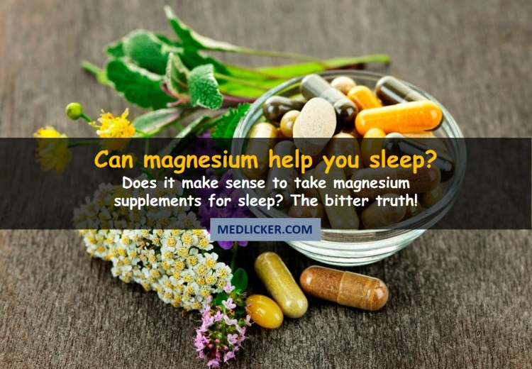Does magnesium really promote a good sleep? The bitter truth!