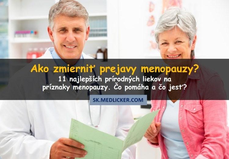 11 najlepších prírodných liekov na príznaky menopauzy. Čo pomáha ženám v prechode?