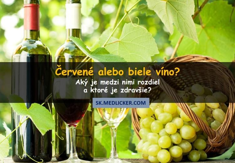 Je zdravšie červené alebo biele víno?
