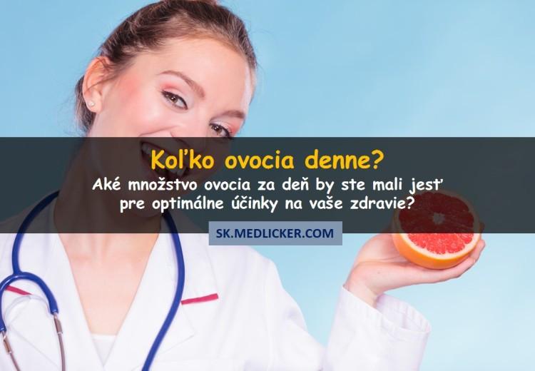 Koľko porcií ovocia denne jesť?
