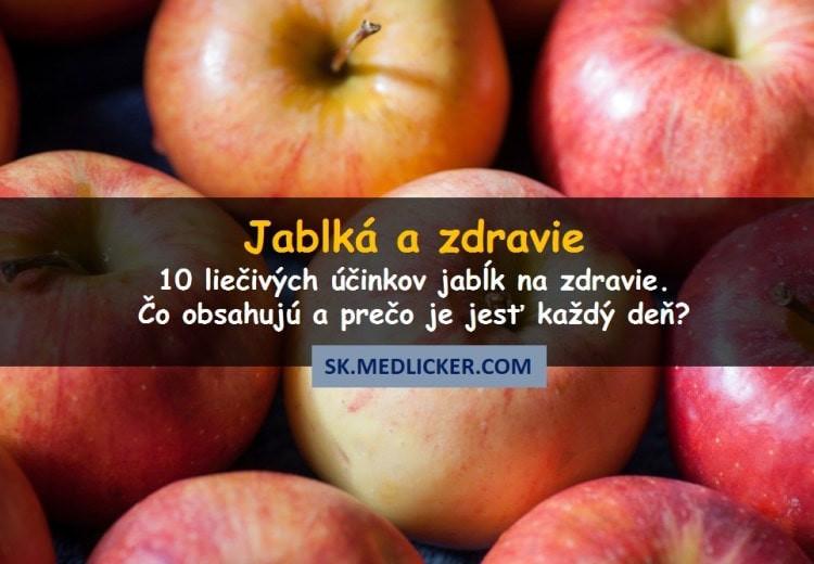 Jablká a zdravie - čo obsahujú a prečo je jesť každý deň?
