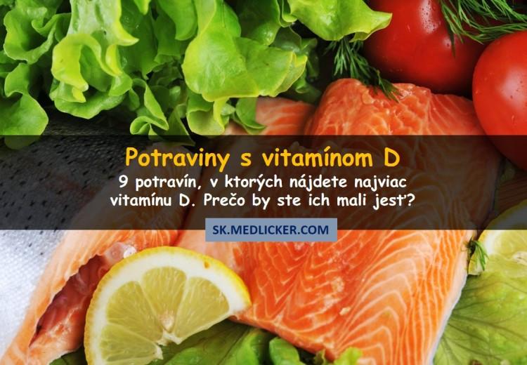 9 zdravých potravín, v ktorých sa nachádza vitamín D