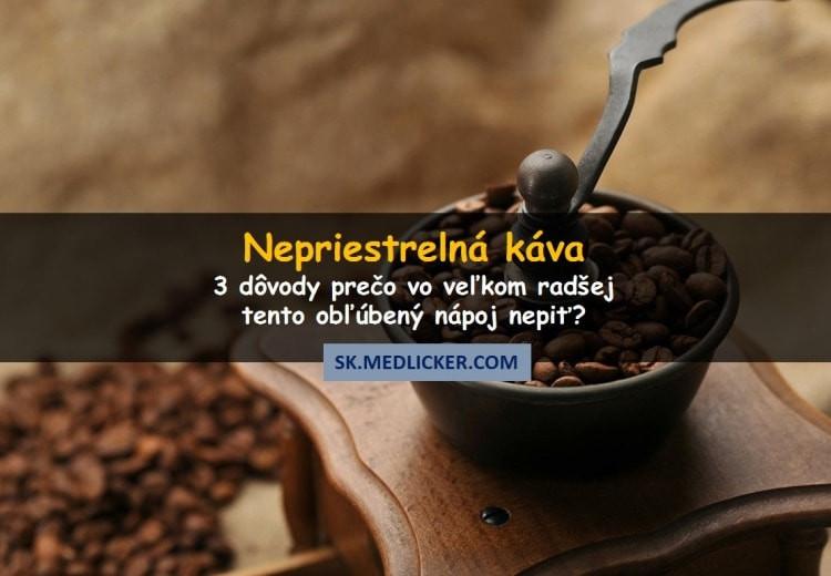 3 dôvody, prečo pitie nepriestrelnej kávy nie je dobrý nápad