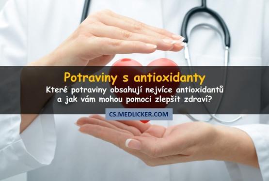 Které potraviny obsahují nejvíce antioxidantů?